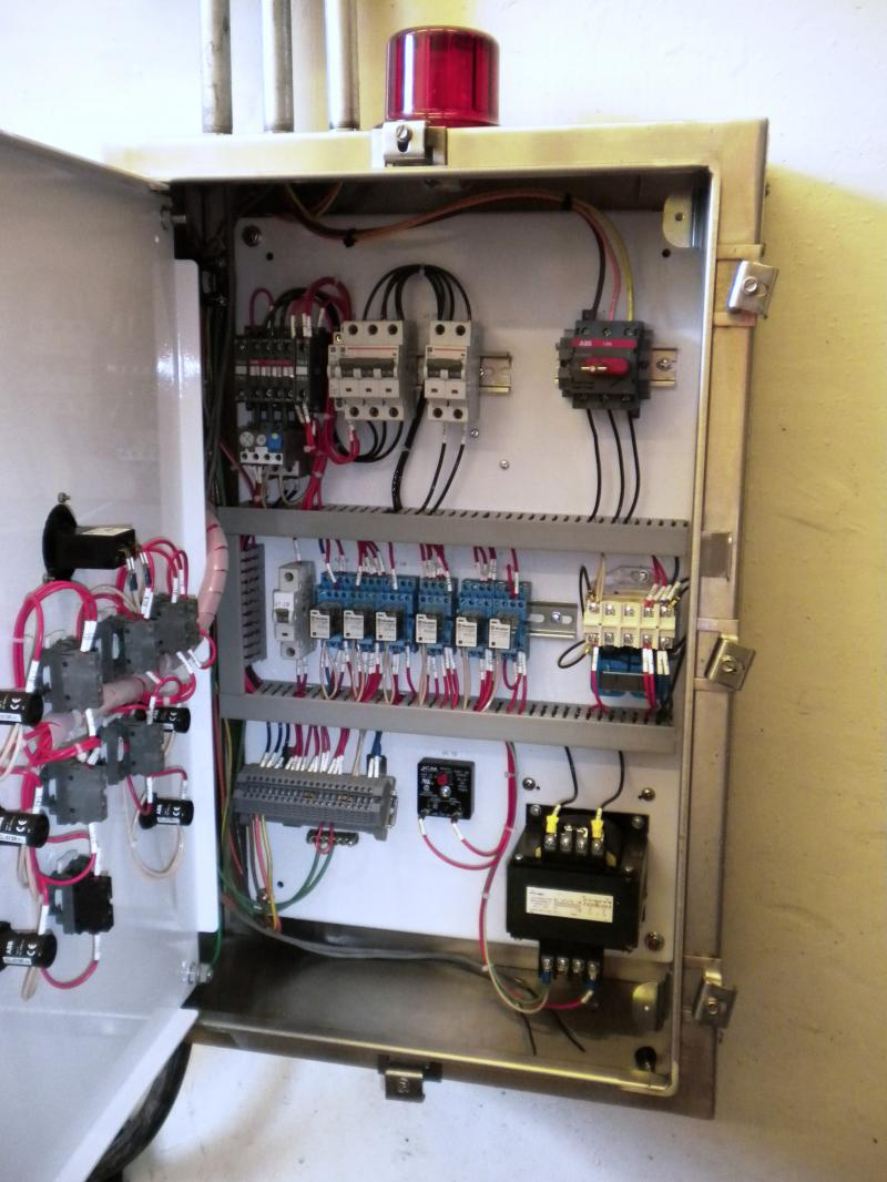 Db Custom Wiring Water Waste Controls Intrinsically Safe Simplex Control Panel