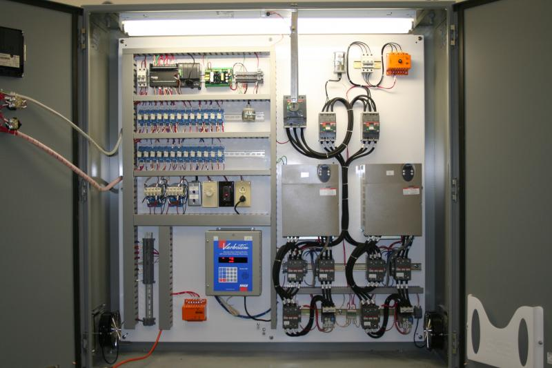 Industrial Panel Wiring Diagram : D b custom wiring industrial automation controls